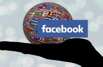 Pagina Facebook multlingua